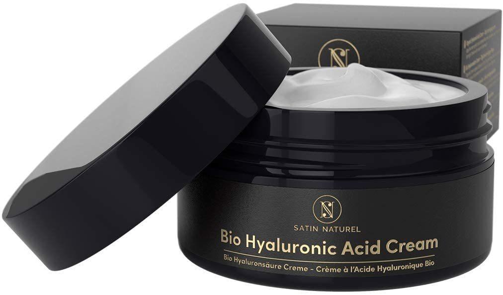 Crema facial de ácido hialurónico