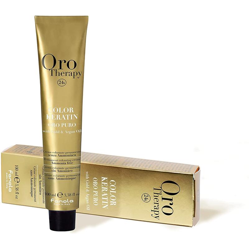 Tinte con keratina Oro Therapy de Fanola.