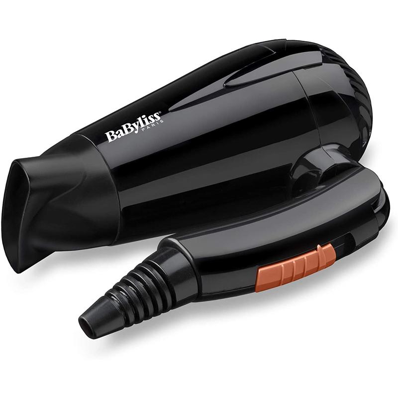Secador de pelo plegable y con 2000W de potencia de BaByliss.