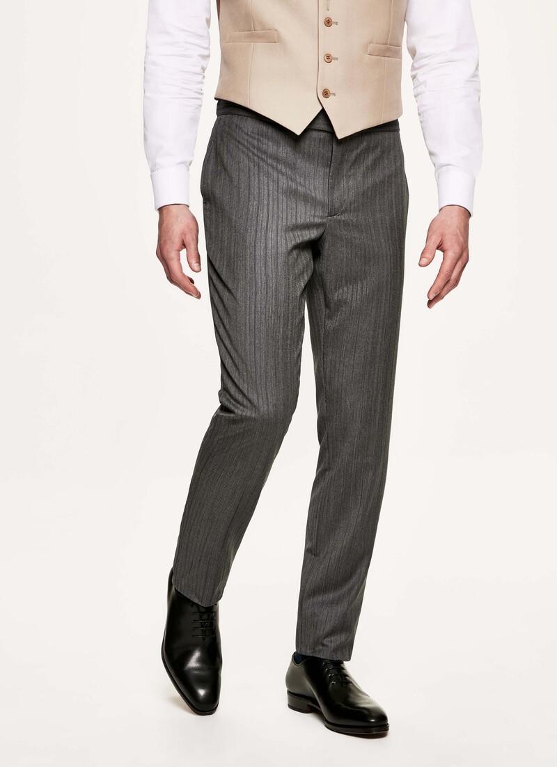 Pantalón sastre a rayas de Hackett