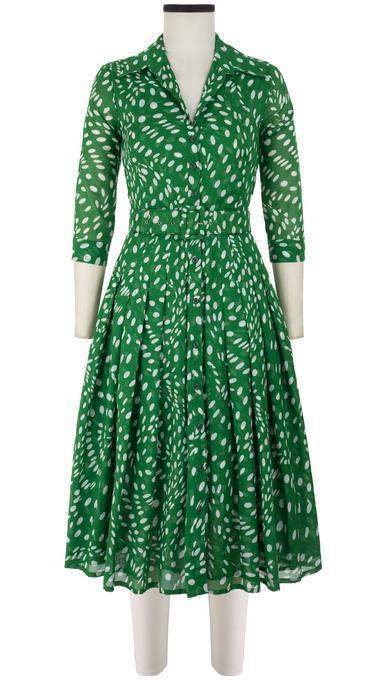Vestido de la firma Samantha Sung.
