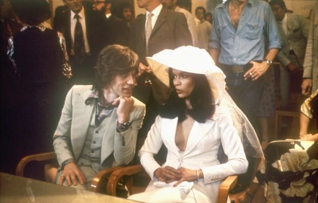 Boda entre Mick y Bianca Jagger