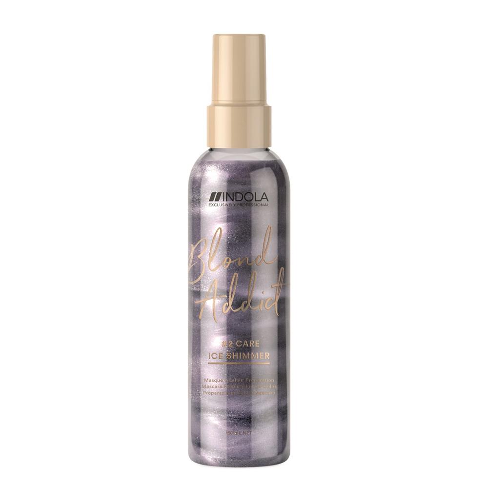 Blond Addict Ice Shimmer Spray de Indola.