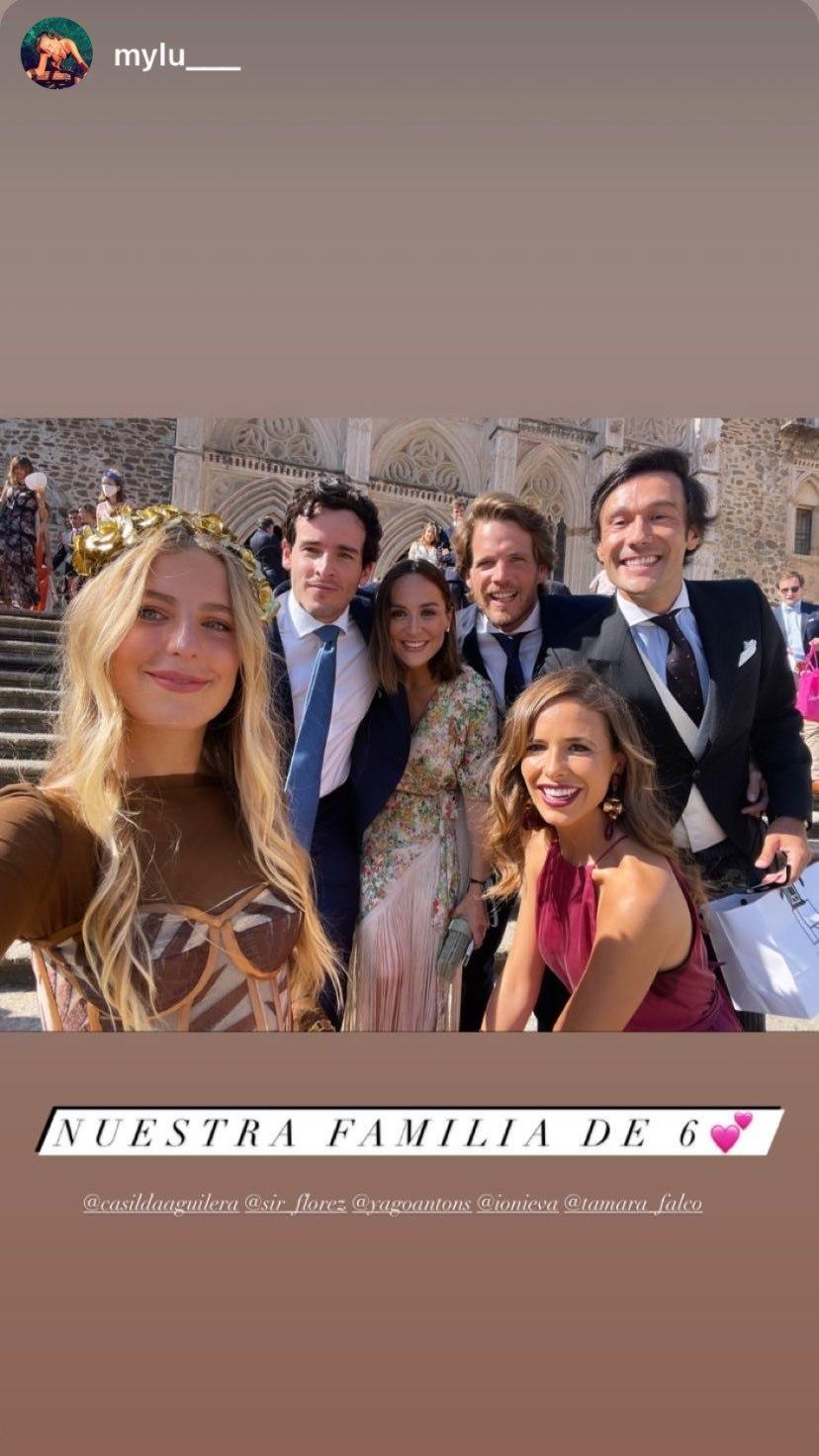 Tamara Falcó y sus amigos.