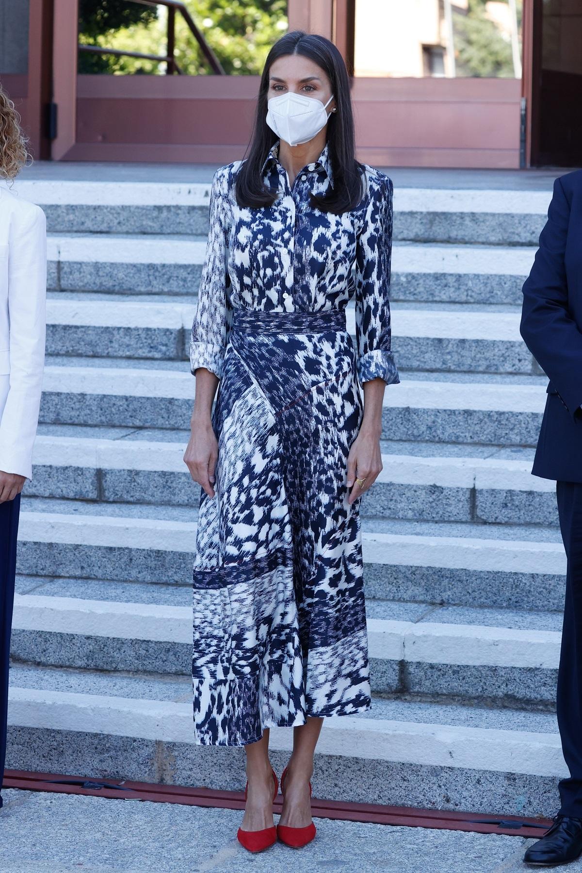 El look de hoy de la Reina Letizia.