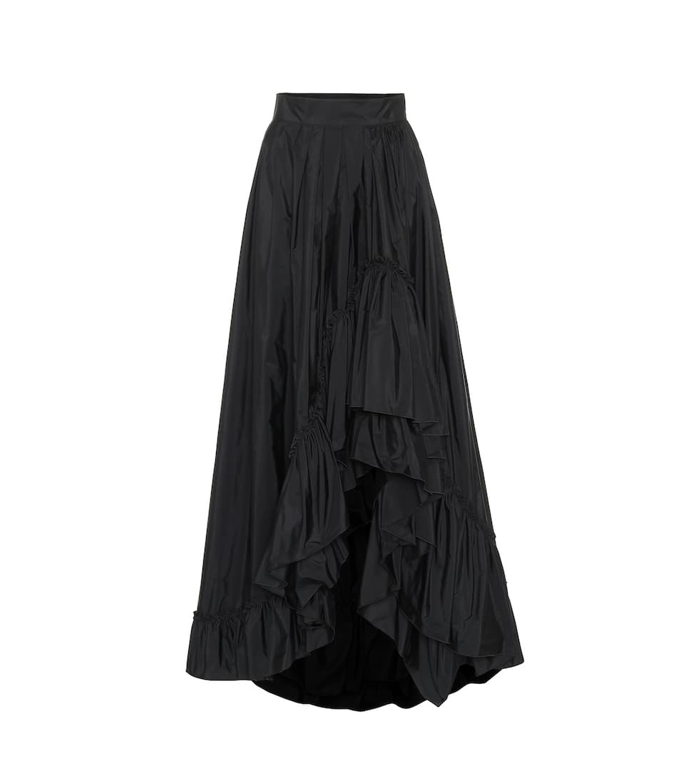 Falda negra, de Max Mara.