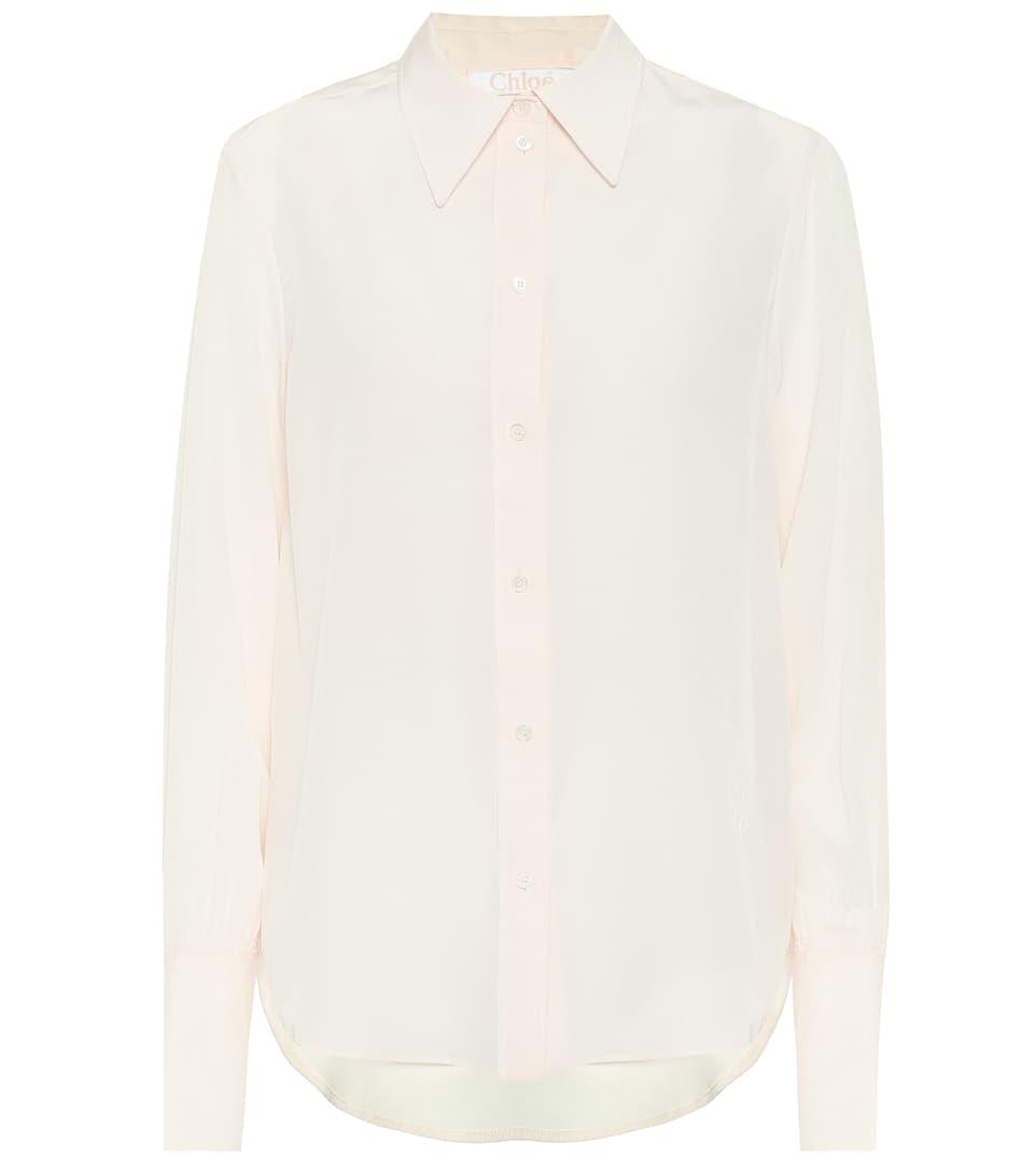 Camisa blanca, de Chloé.