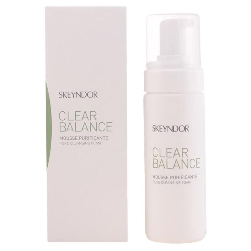 Espuma Limpiadora para pieles grasas Mousse Purificante Clear Balance de Skeyndor.