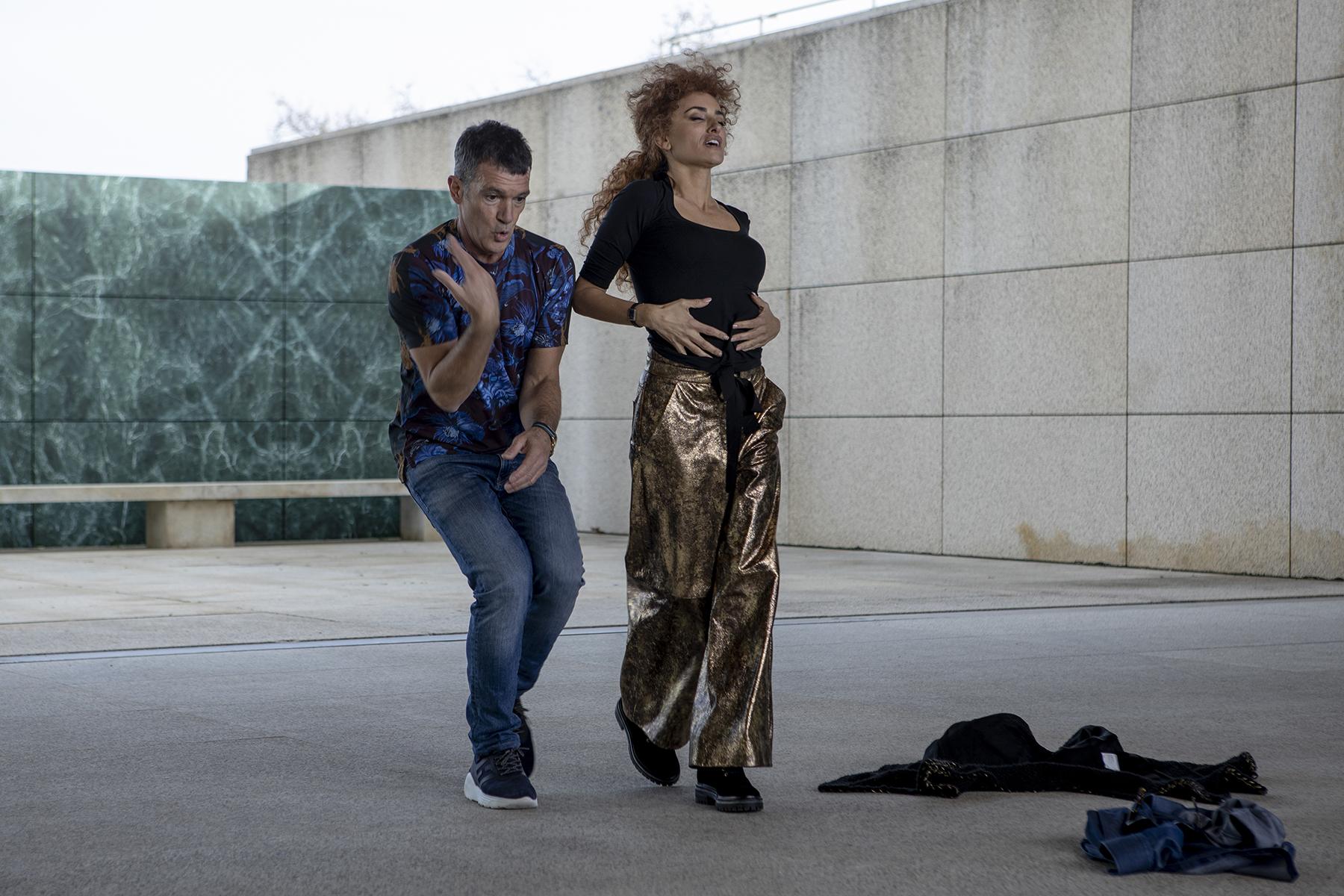 """Penélope Cruz y Antonio Banderas en """"Competencia oficial"""""""