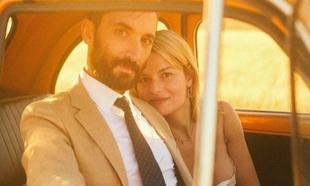Todo fue sol u luz en la boda de Sabina Socol, en los campos de trigo...