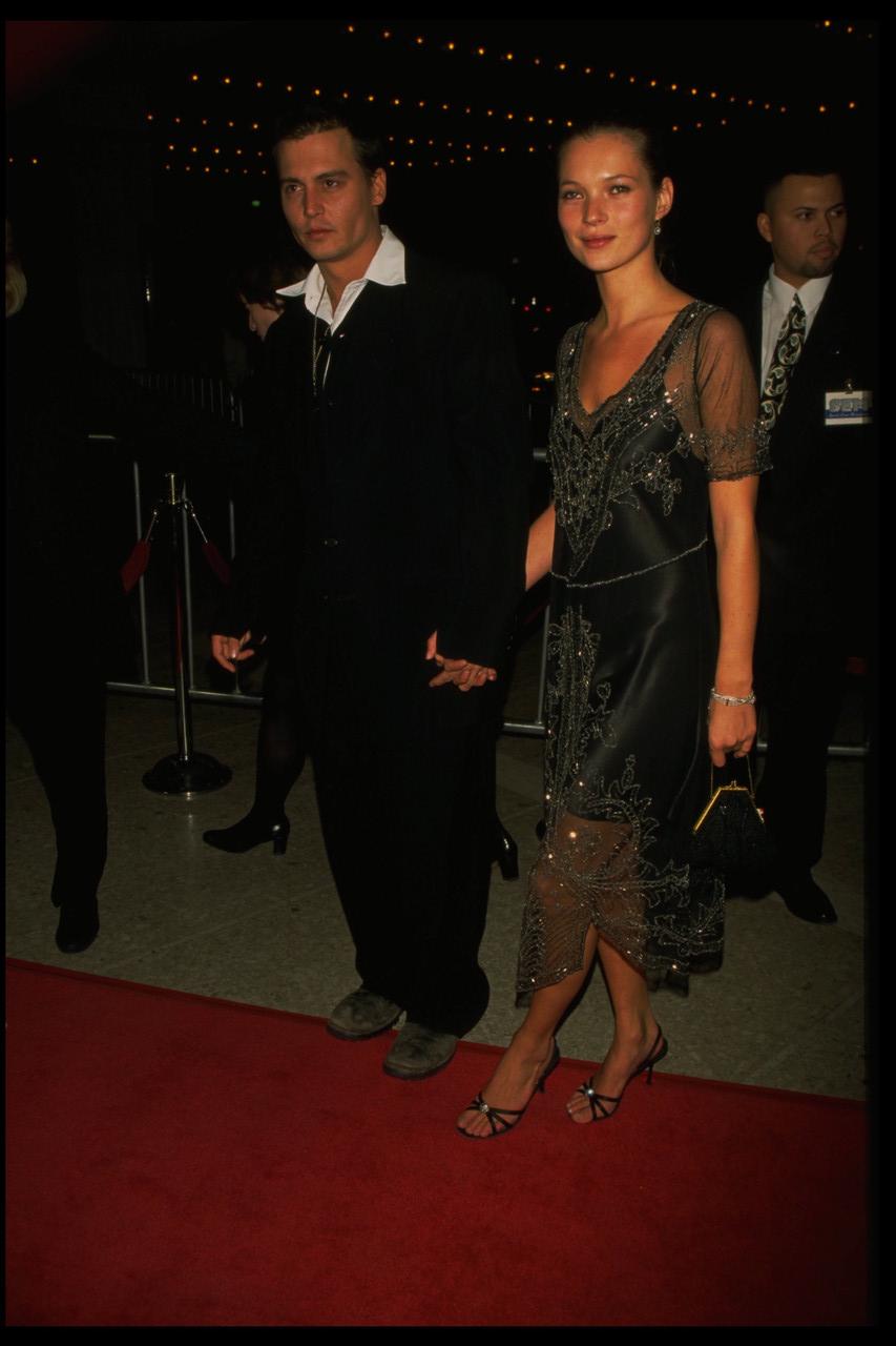 El vestido lencero de Kate Moss.