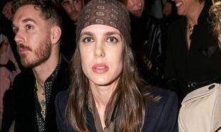 Carlota Casiraghi en la semana de la moda de París
