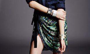 La falda pareo es una opción perfectamente factible para un look...