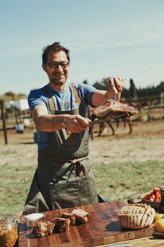 El chef Mauricio Giovanini