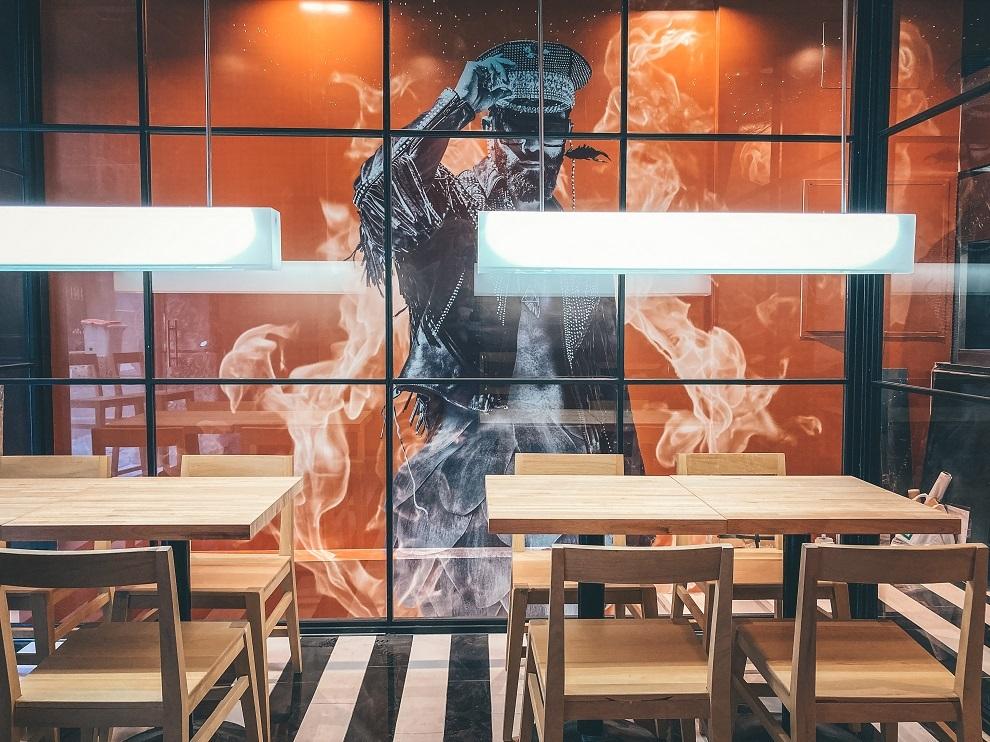 Restaurante Bar de Fuegos.