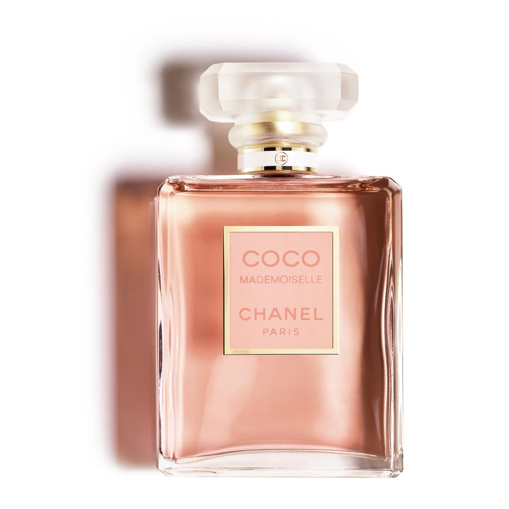 Perfume Coco Mademoiselle de Chanel.
