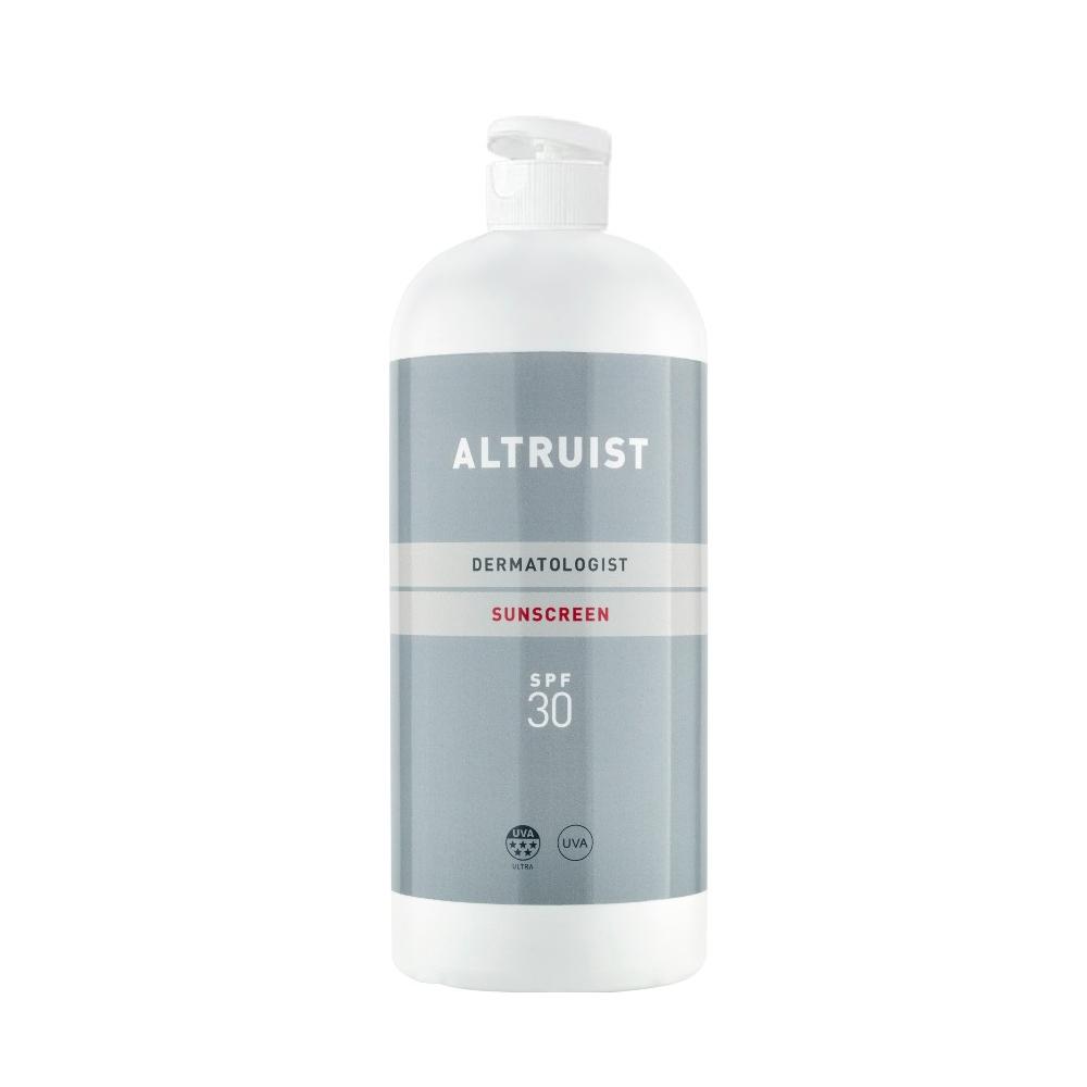 Crema solar dermatológica SPF 30 de Altruist.