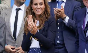 Kate Middleton asistió a un partido, disfrutando de la competencia...