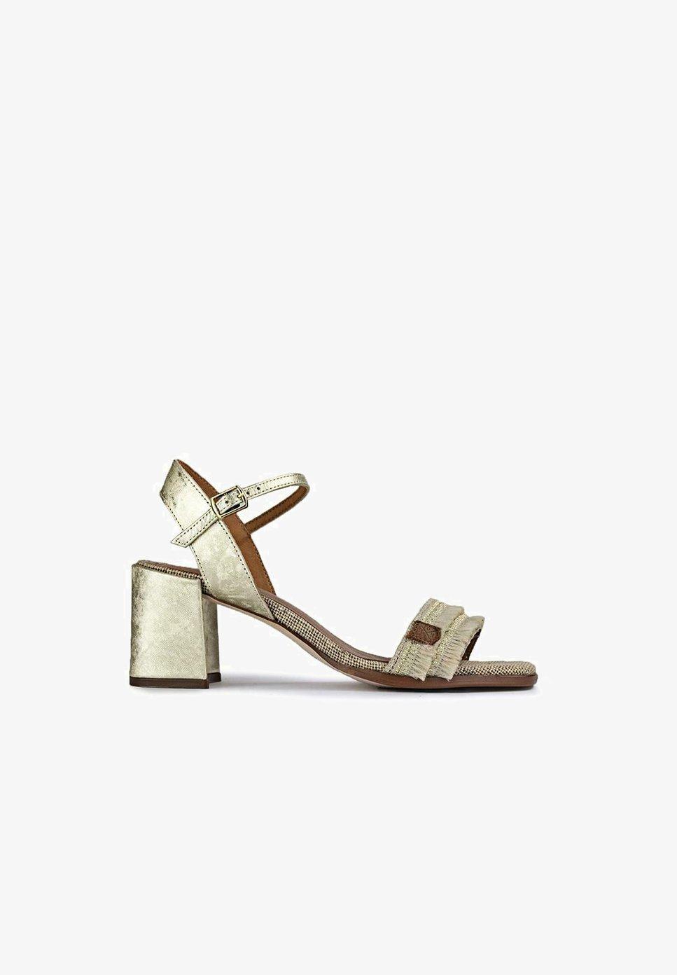 Sandalias tacón cómodo rebajado