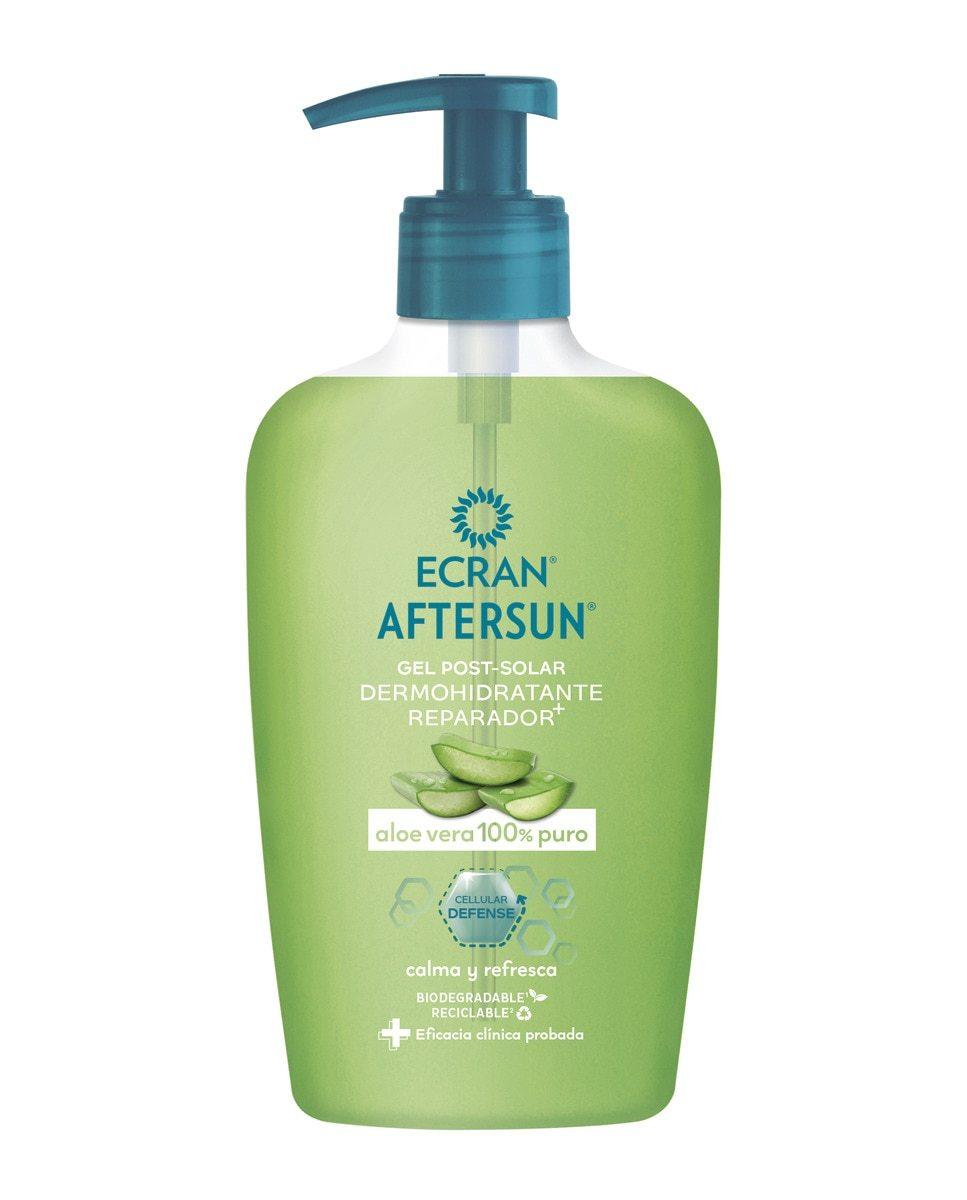 Gel Post-solar Dermohidratante con aloe vera puro de Ecran
