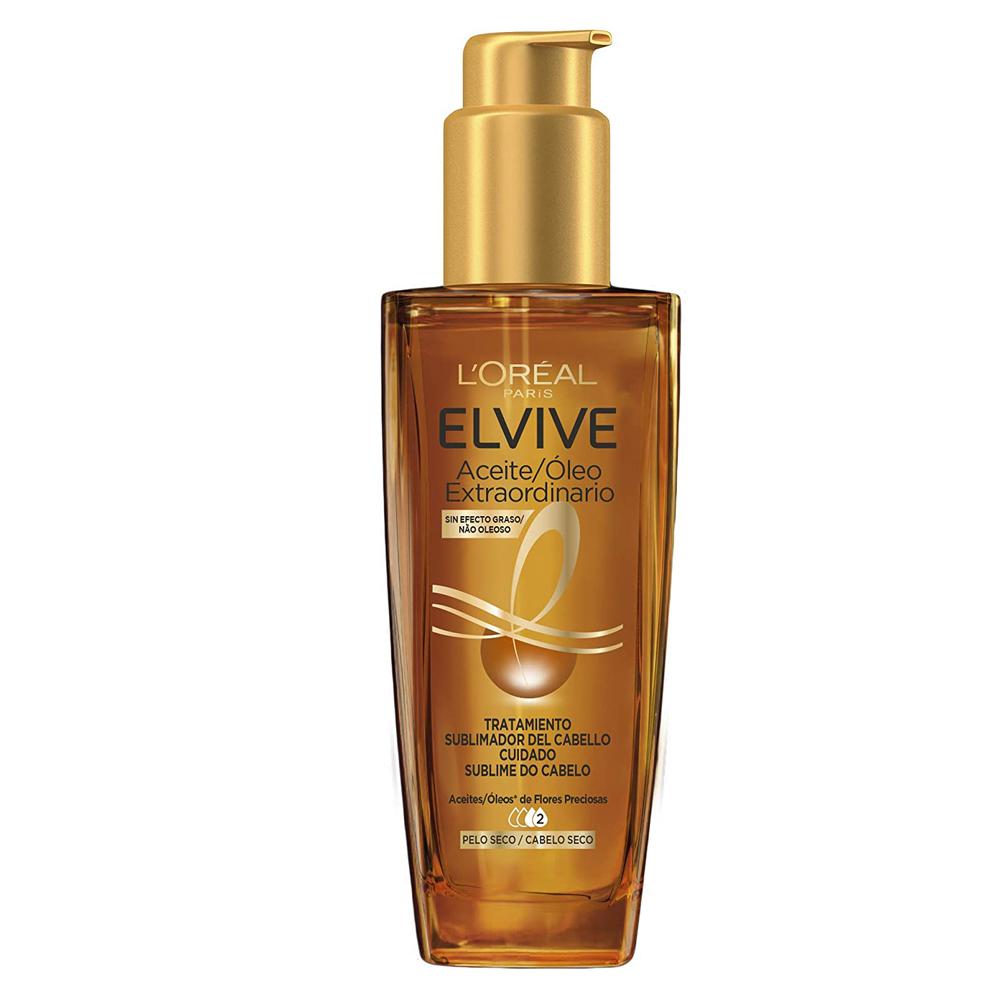 Aceite extraordinario tratamiento sublimador para el pelo Elvive de L'Oréal Paris.
