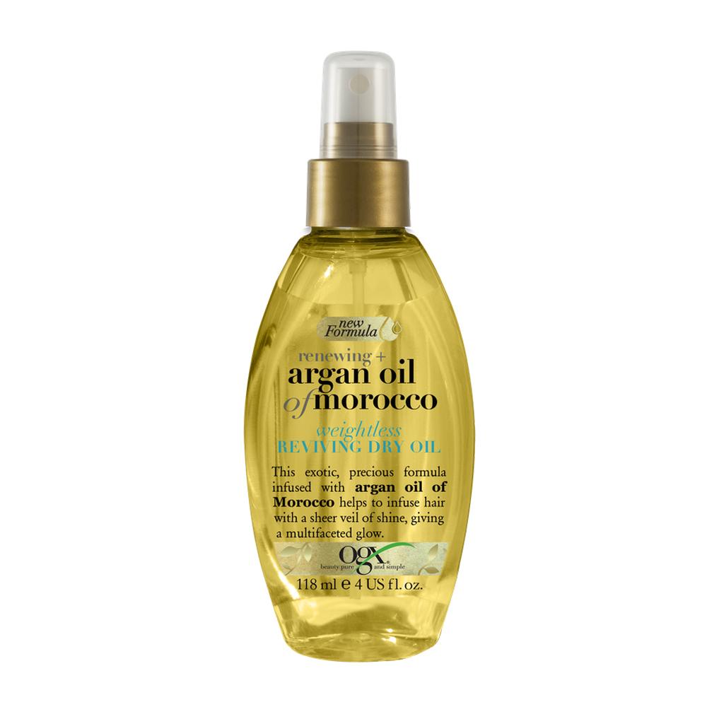 Aceite de pelo revitalizante de argán de Marruecos de OGX.