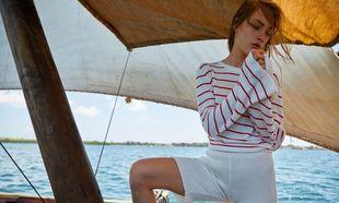 Las camisetas de rayas marineras son un clásico imbatible de todos...