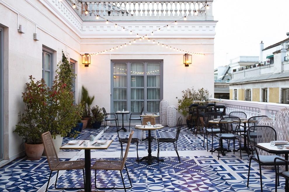 La terraza clandestina: Club67 en el hotel Only you.