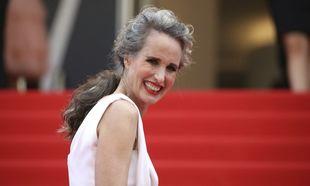 La actriz Andie MacDowell en el Festival de Cannes
