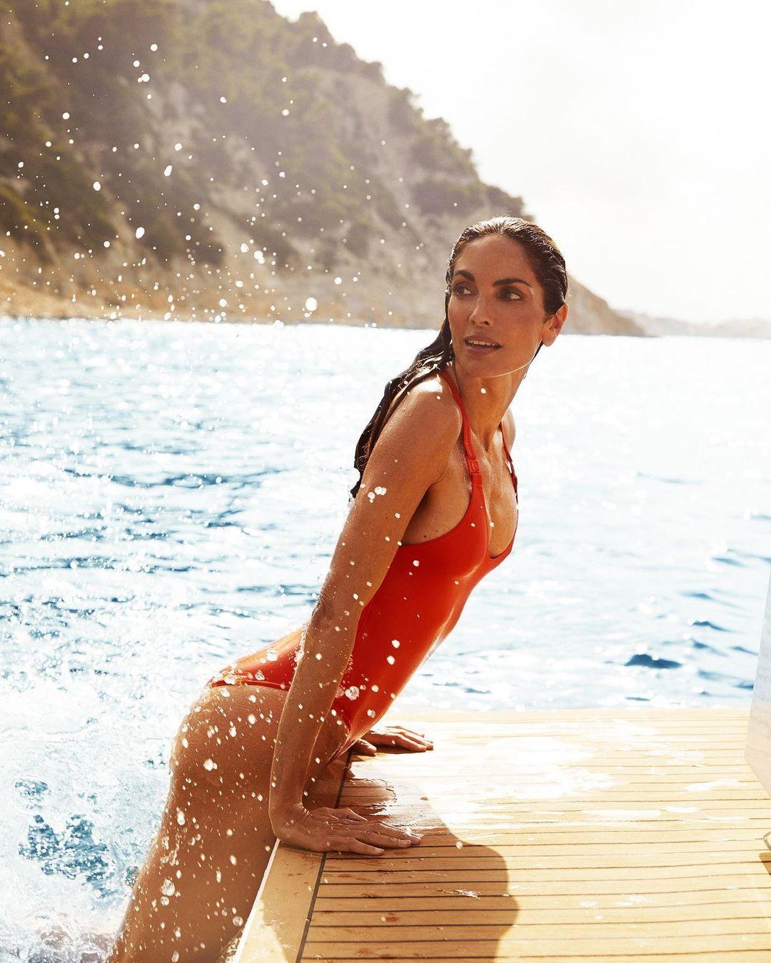 Eugenia Silva en Formentera