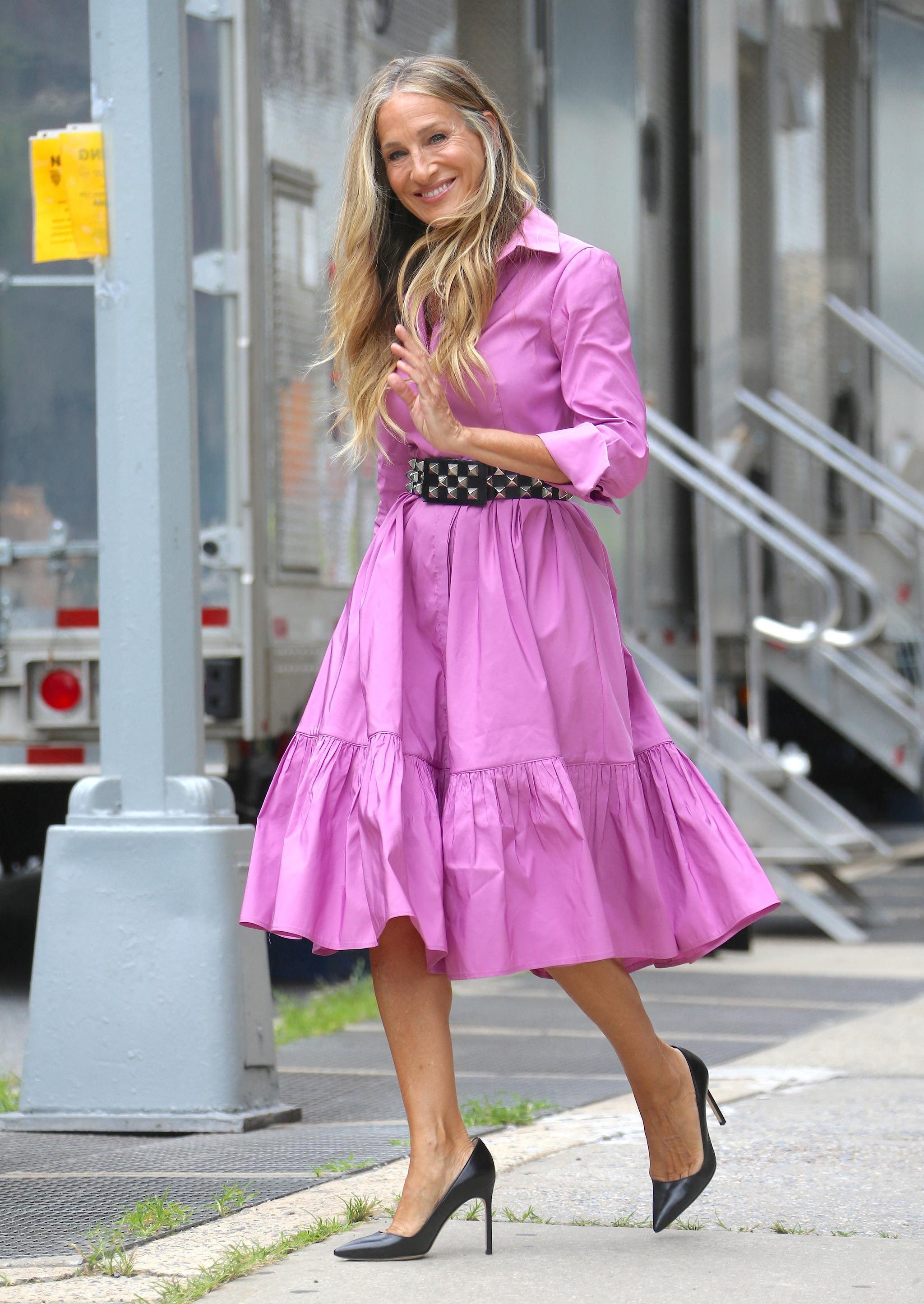 El vestido de Sarah Jessica Parker.