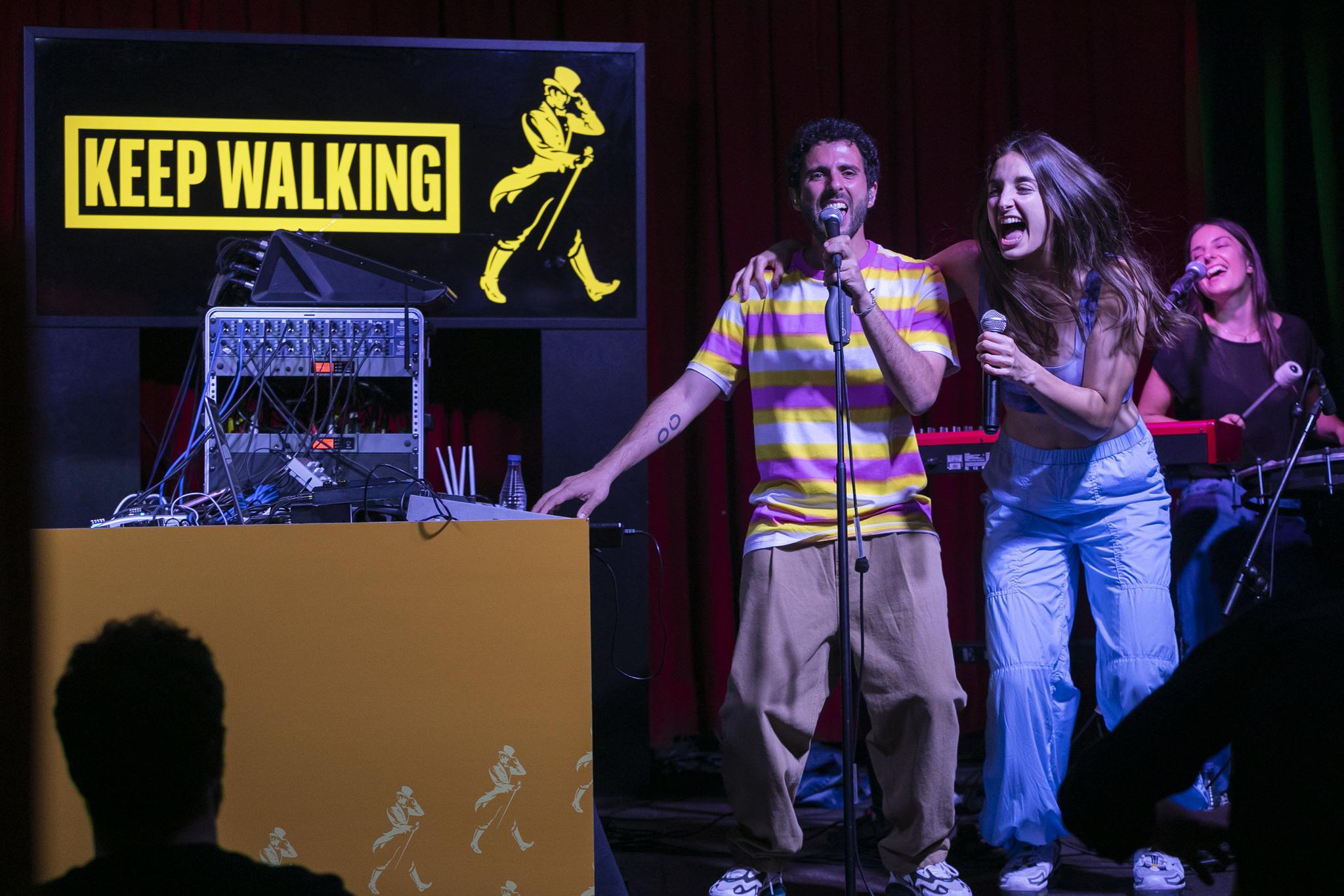 El concierto Keep Walking Together de Johnnie Walker en la Sala El Sol supuso la vuelta a los escenarios de Delaporte.