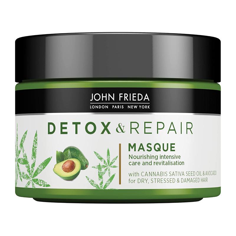 Mascarilla para el pelo seco Detox & Repair de John Frieda.