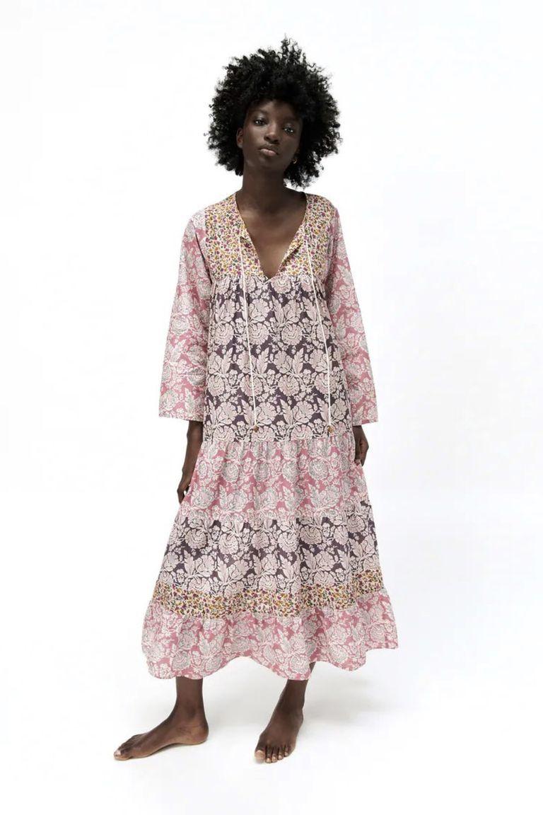 Vestido ancho de Zara 39,95 euros