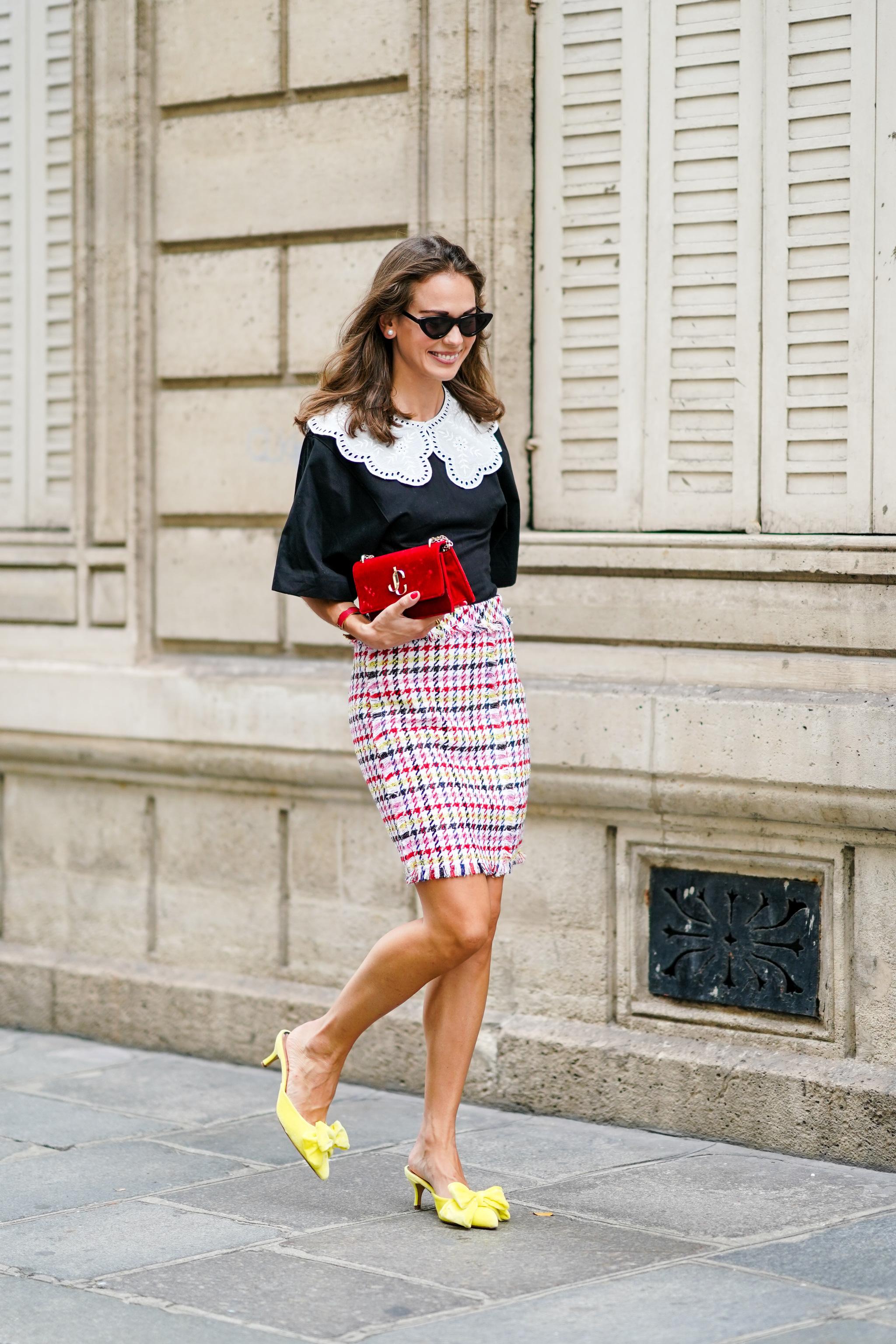 Los kitten heels serán los zapatos del otoño.