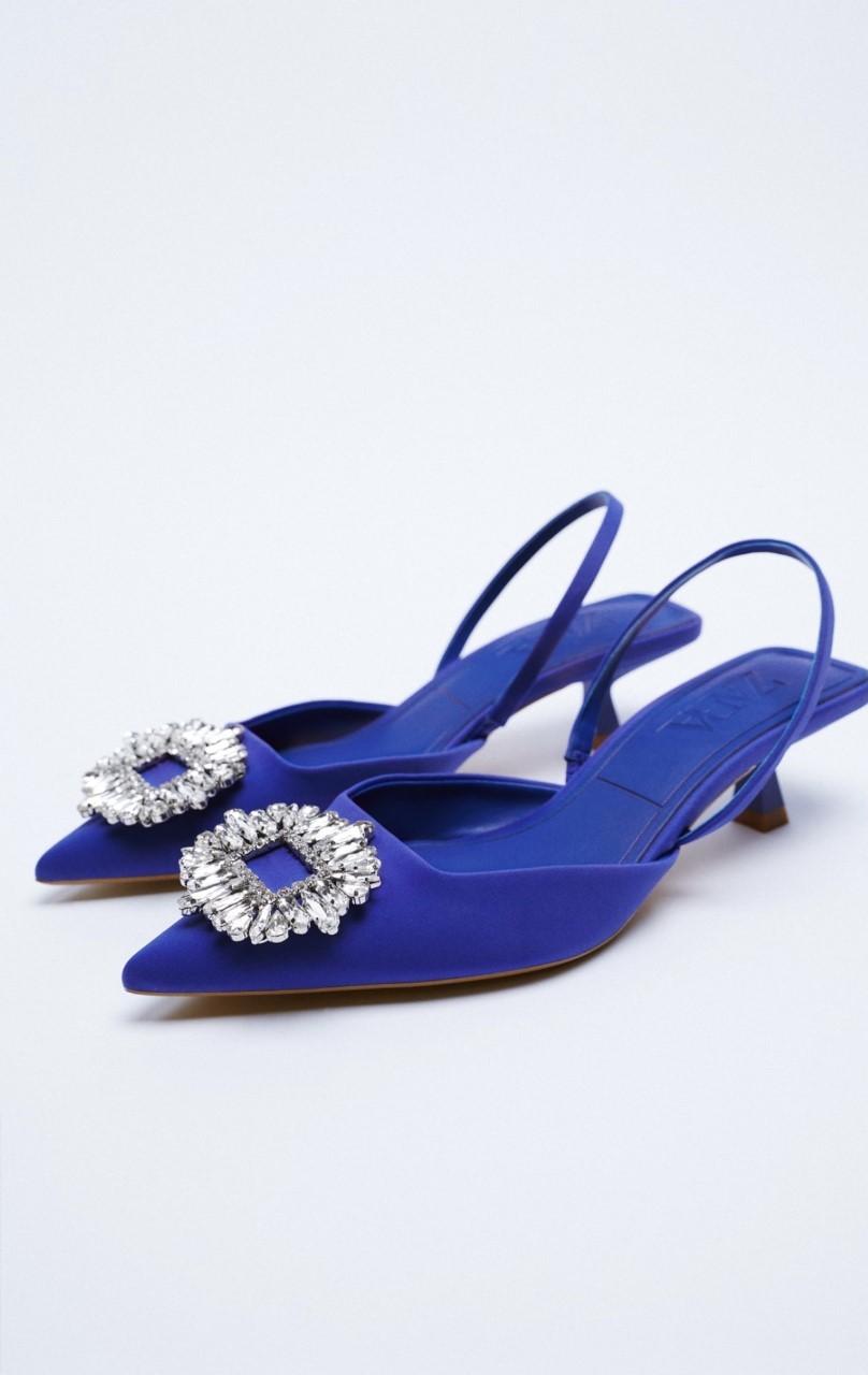 Los kitten heels de Zara.