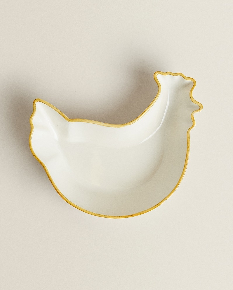 Fuente de cerámica.