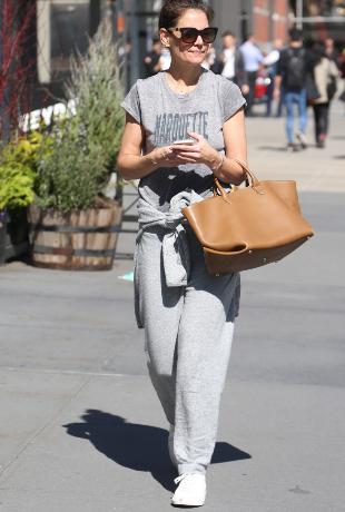 La actriz paseando por Nueva York