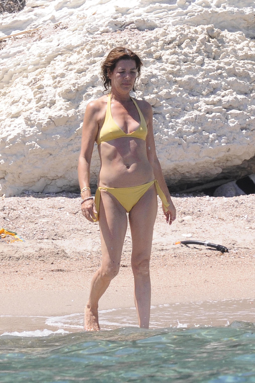 Carolina de Mónaco con bikini.