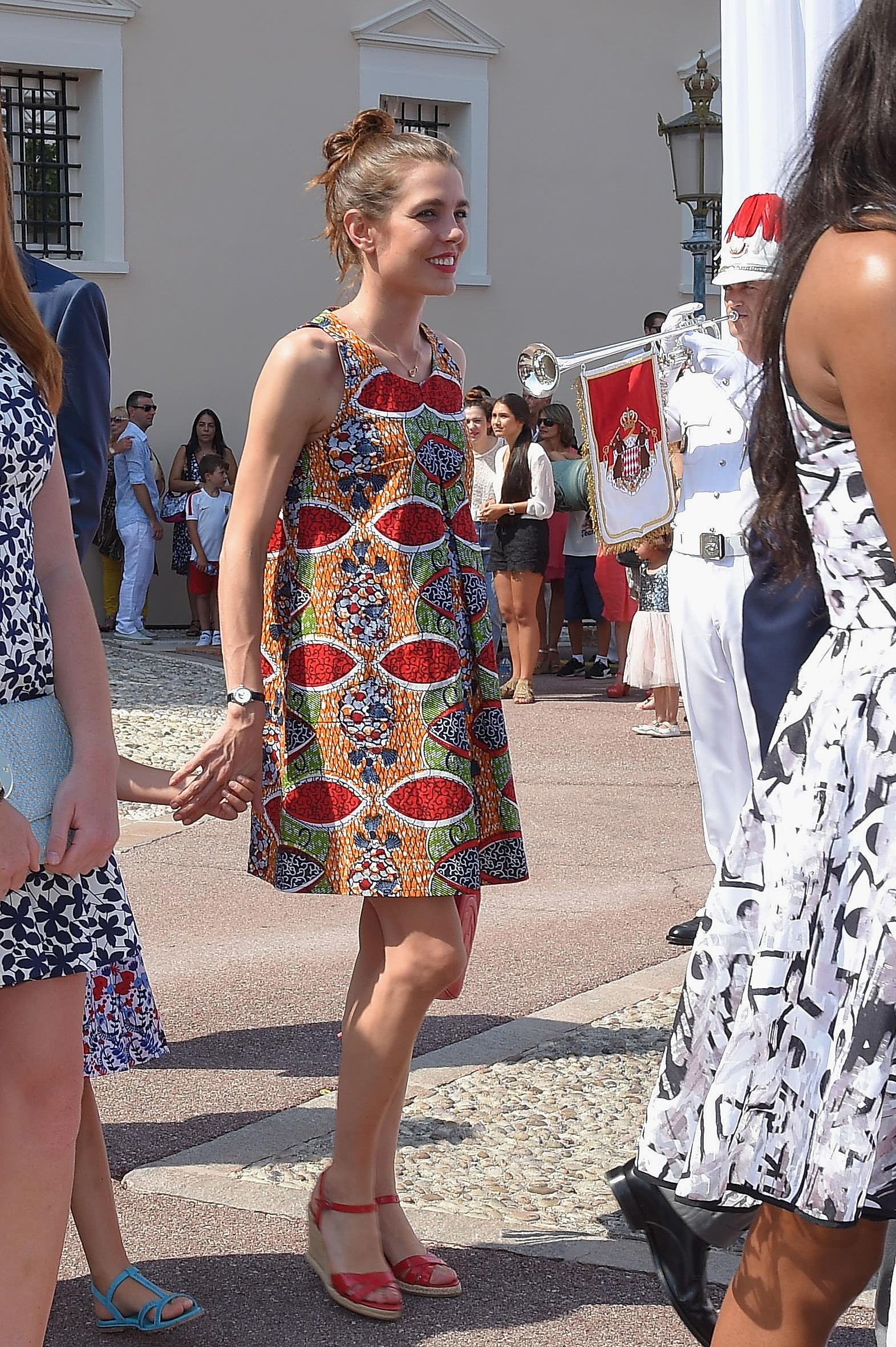 Carlota Casiraghi en Mónaco.