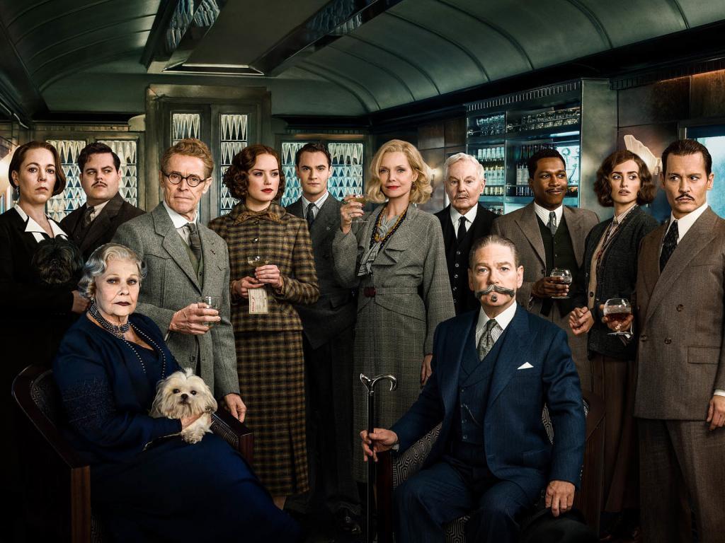 Olivia Colman y Willem Dafoe son algunos de los protagonistas de la versión de Asesinato en el Orient Express dirigida en 2017 por Kenneth Branagh, que interpretó a Hercules Poirot.