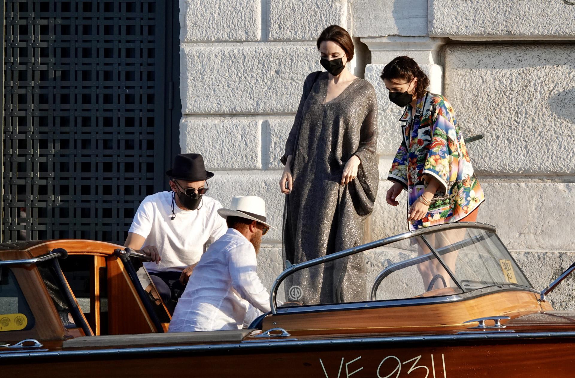 Angelina Jolie en Venecia.