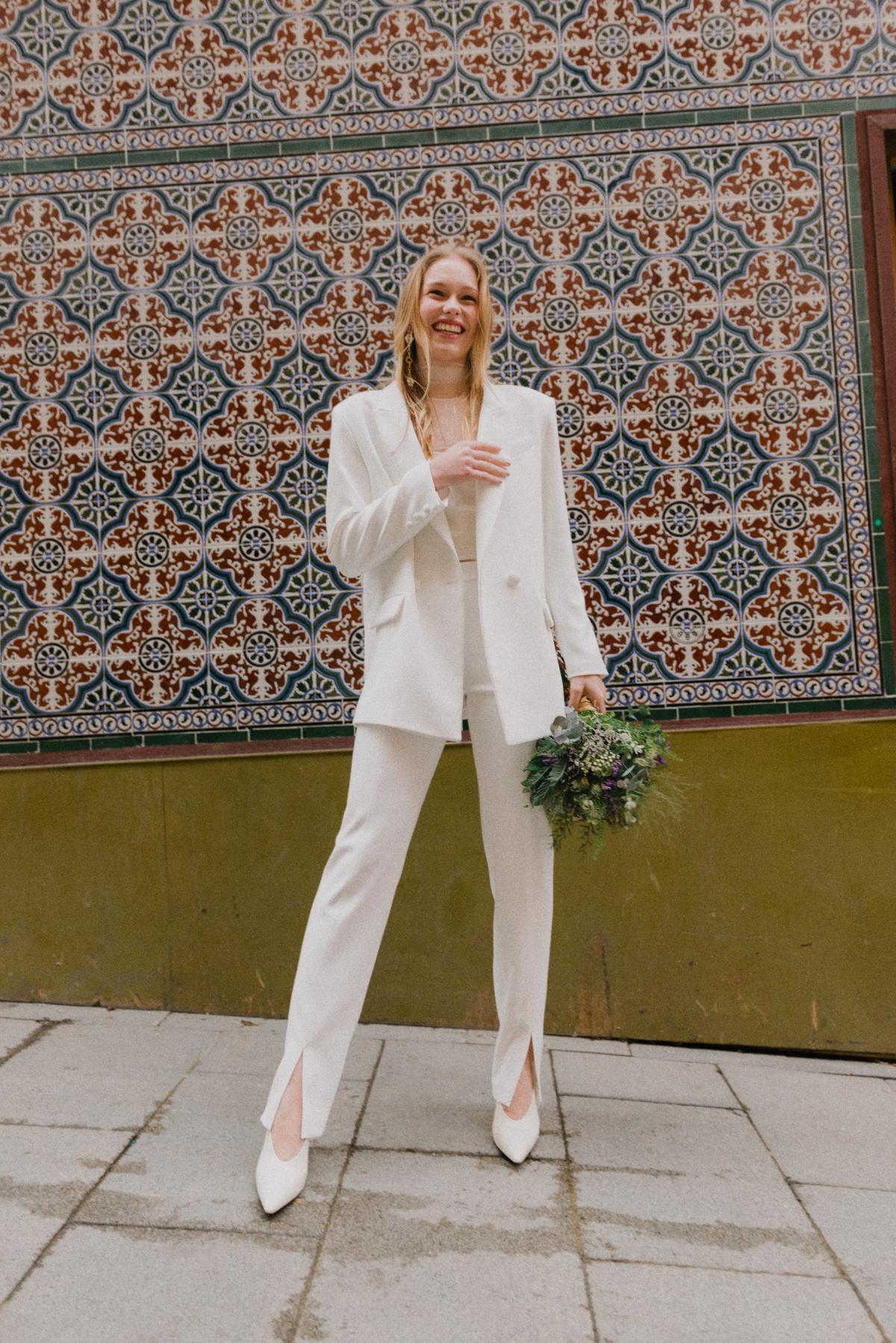 Los diseños de Laura Viera son ideales para las que están buscando un conjunto con pantalón