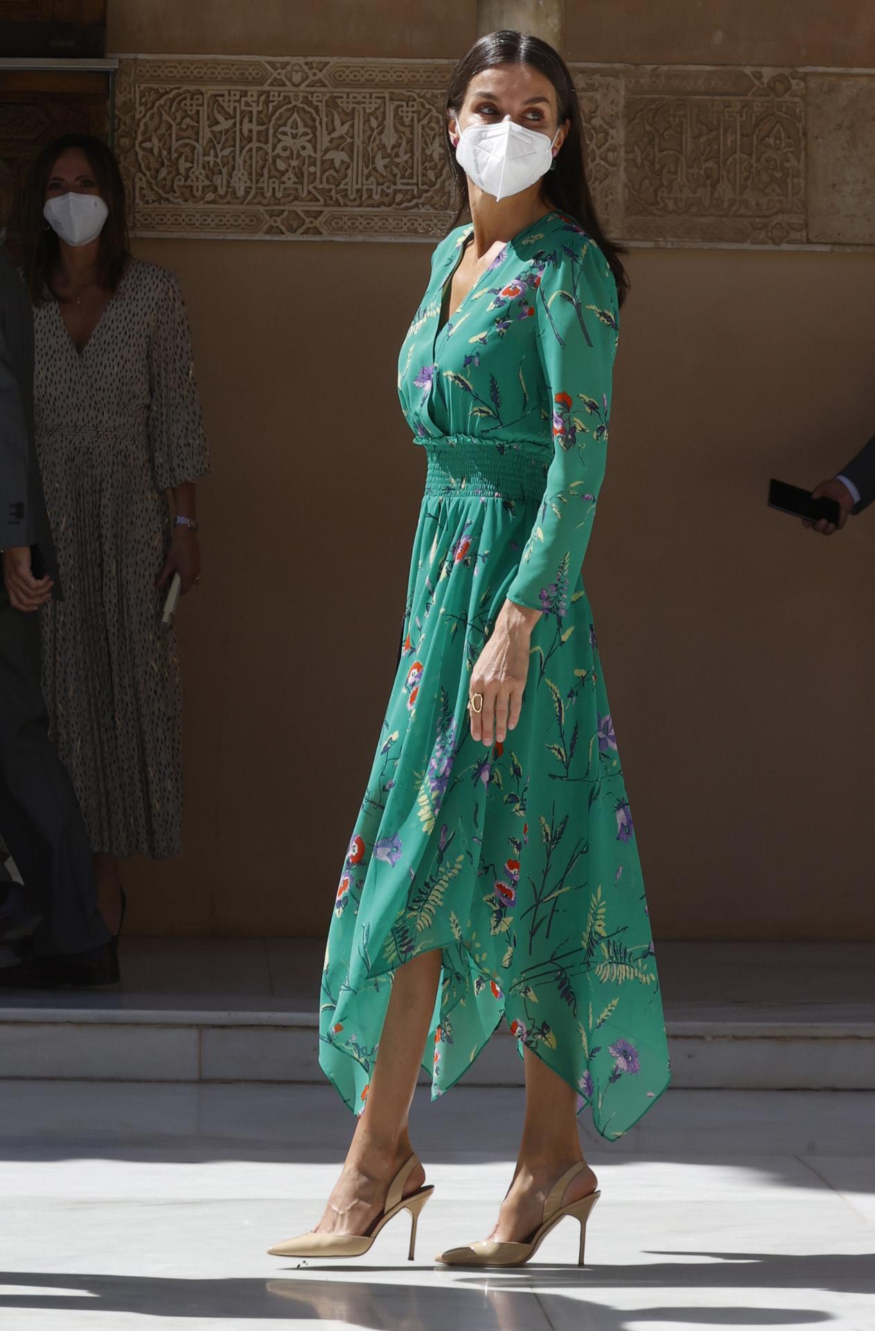 Vestido de Maje de la Reina Letizia