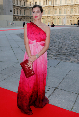 Carlota Casiraghi en París.