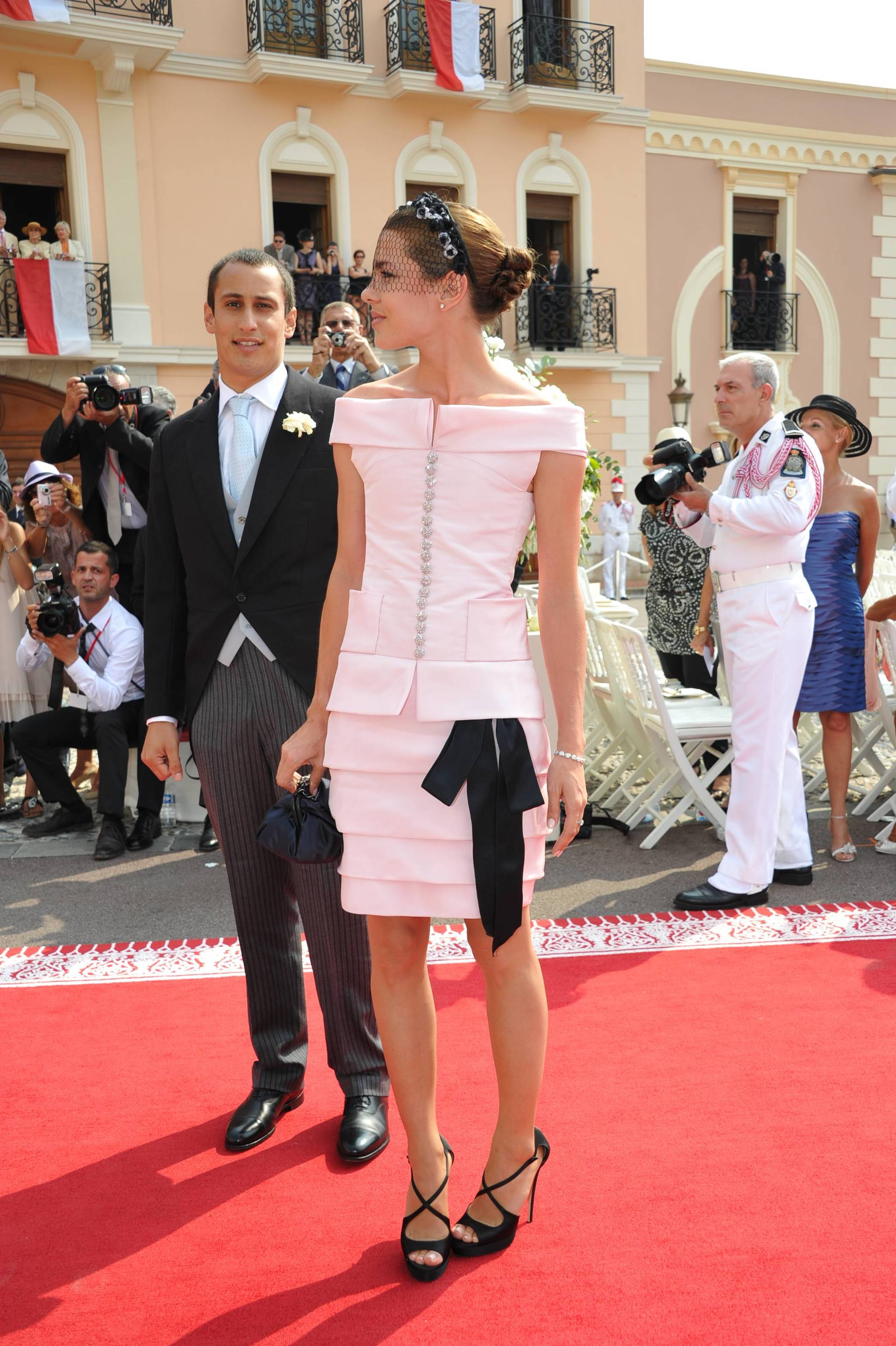 Carlota Casiraghi y su novio de entonces Alex Dellal.