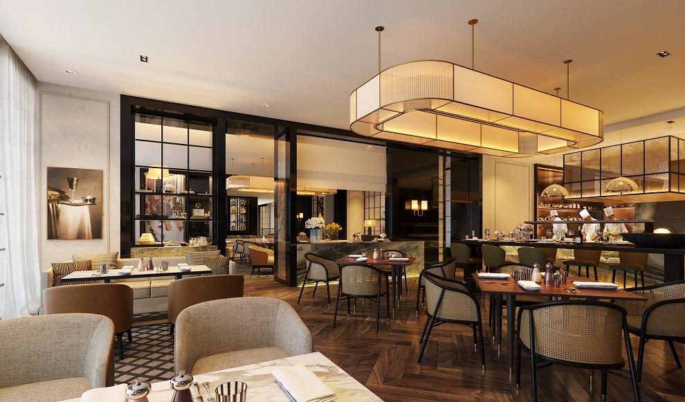 Uno de los restaurantes del hotel  Rosewood Villa Magna