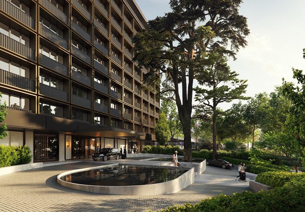 Fachada del nuevo Rosewood Villa Magna