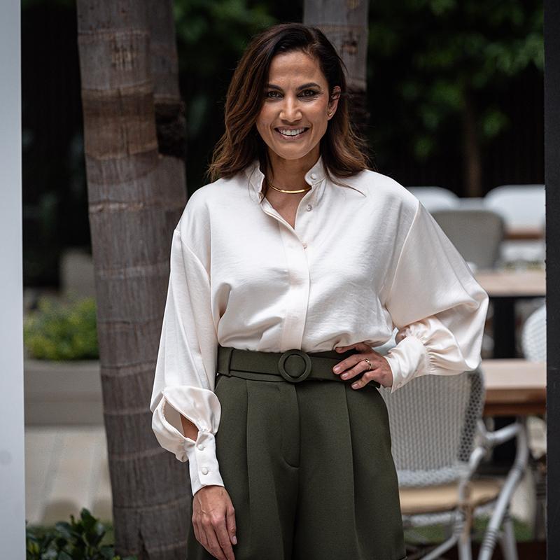 La actriz Toni Acosta.