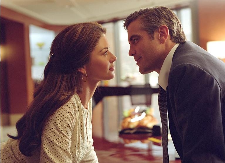 Catherine Zeta-Jones y George Clooney